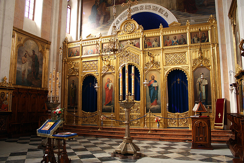 Church of the holy annunciation dubrovnik