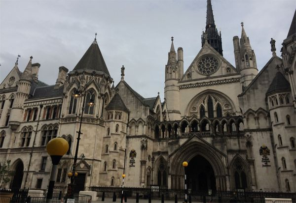 The Royal Court of Justice, Strand, Londonl