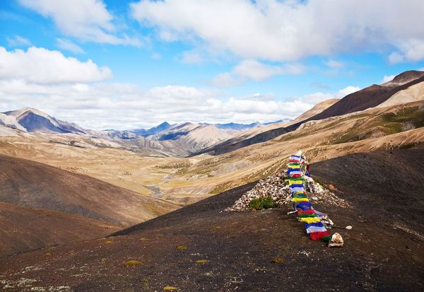 Trekking in Nepal's far-western Upper Dolpo region
